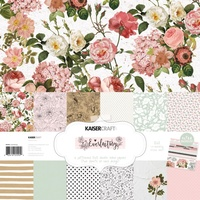 Kaisercraft 12x12 Paper Pad Everlasting with BONUS Stickers