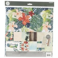 Kaisercraft 12x12 Paper Pack Paradise Found with BONUS Stickers