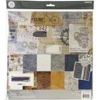 Kaisercraft 12x12 Paper Pack Workshop with BONUS Stickers