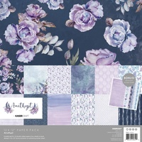 Kaisercraft 12x12 Paper Pack Amethyst with BONUS Stickers