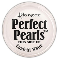 Perfect Pearls Pigment Powder 0.25oz CONFETTI WHITE
