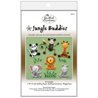 Quilled Creations Quilling Kit Jungle Buddies