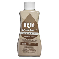 Rit Dye More Synthetic Liquid 207ml Chocolate Brown