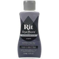 Rit Dye More Synthetic Liquid 207ml Graphite