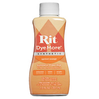 Rit Dye More Synthetic Liquid 207ml Apricot Orange