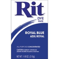 Rit Dye Powder Royal Blue