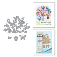 Spellbinders Shapeabilities Dies Four Seasons-Spring Canopy & Elements S4-841