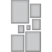 Spellbinders Nestabilities Dies Scored & Pierced Rectangles S4-904
