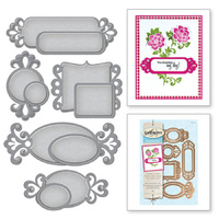 Spellbinders Shapeabilities Fancy Framed Tags Two S5-128