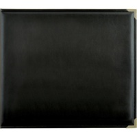 Kaisercraft D Ring Album 12x12 Leather Black