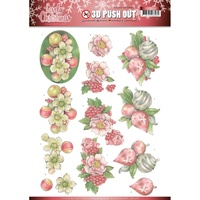 Jeanines Art Lovely Christmas 3D Decoupage A4 Sheet Ornaments