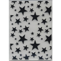 Embossing Folder Starry Background 10.5cm x 14.5cm