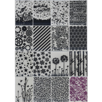 Special Bundle 16 Embossing Folders 10.5cm x 14.5cm
