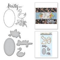 Spellbinders Stamp & Die Set Beauty and Elegance SDS-005