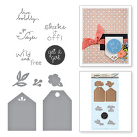 Spellbinders Stamp & Die Set Simply Me SDS-008