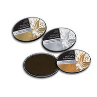 Midas by Spectrum Noir Metallic Pigment 3PC Inkpads - Antique Metals