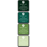 Hampton Art Dye Ink Pads 4 Colours Mint Julep