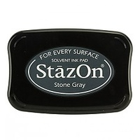 StazOn Ink Pad Stone Gray