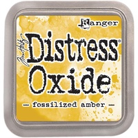Tim Holtz Distress Oxide Ink Pad Fossilized Amber