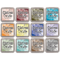 Tim Holtz Distress Oxide Ink Pad 12 Colours Set 3