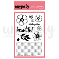 Uniquely Creative Beautiful Birthday Wishes Stamp