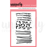 Uniquely Creative Mini Stamp Scribble Mark Making