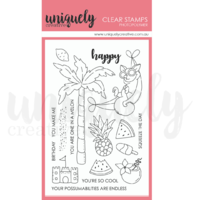 Uniquely Creative Lazy Days Stamp