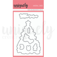 Uniquely Creative O Christmas Tree Fussy Cutting Die