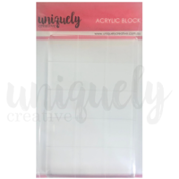 Uniquely Creative Acrylic Blending and Stamp Block