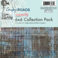 Uniquely Creative 210gsm Cardstock 6x6 Country Roads Collection