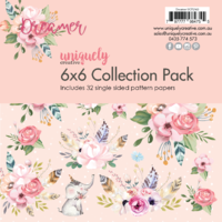 Uniquely Creative 210gsm Cardstock 6x6 Dreamer Collection