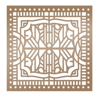 Ultimate Crafts Stencil 6x6 The Ritz Architecture