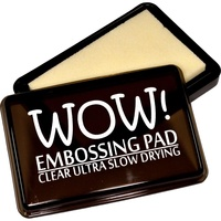 WOW! Embossing Pad Slow Drying Ultra Clear