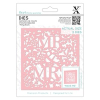 Xcut Dies Mr and Mrs