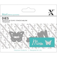 Xcut Dies Mini Sentiment Die Mum 2pcs
