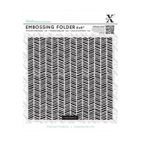Xcut Embossing Folder Herringbone Pattern 6x6