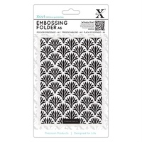 Xcut Embossing Folder Art Deco Pattern A6
