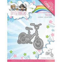 Find It Trading Yvonne Creations Tots & Toddlers Die Tricycle