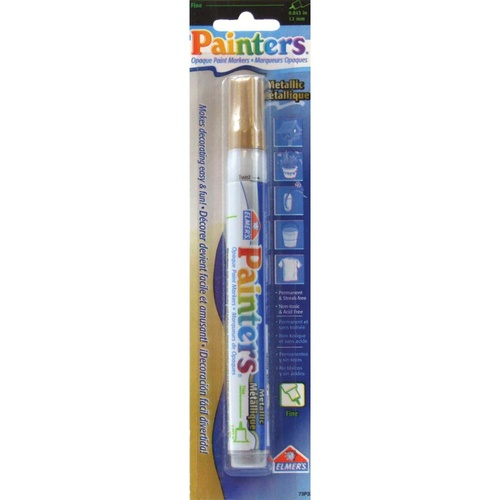 Elmer's Painters Opaque Paint Marker Fine Point Gold