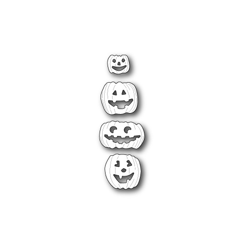 Memory Box Die Jolly Jack O Lanterns 99203