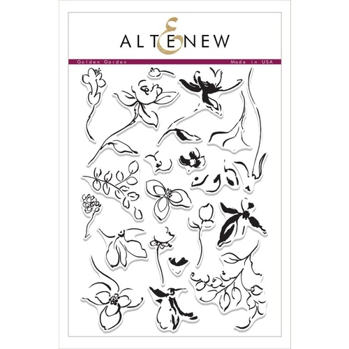 Altenew Golden Garden Stamp Set ALT1019