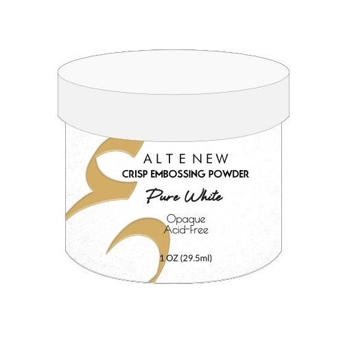 Altenew Embossing Powder Pure White Crisp