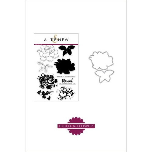 Altenew Build-A-Flower: Gardenia Stamp and Die Set ALT5274