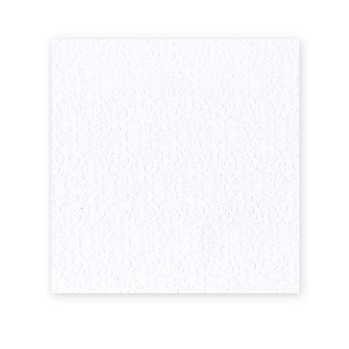 American Crafts 12x12 CARDSTOCK 25 Sheets 216gsm White