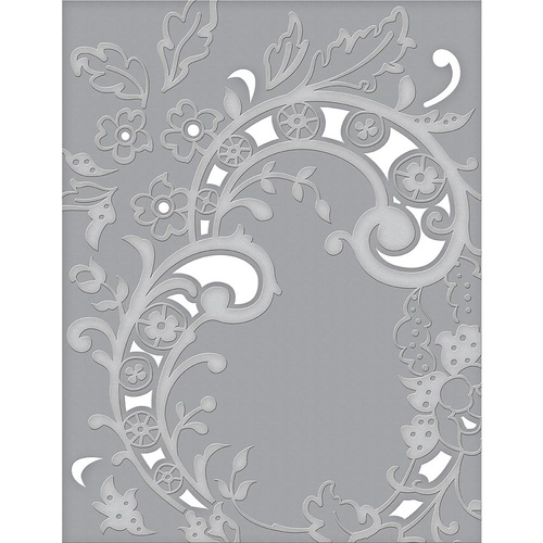 Spellbinders Cut and Emboss Folders Baroque Filigree CEF-004