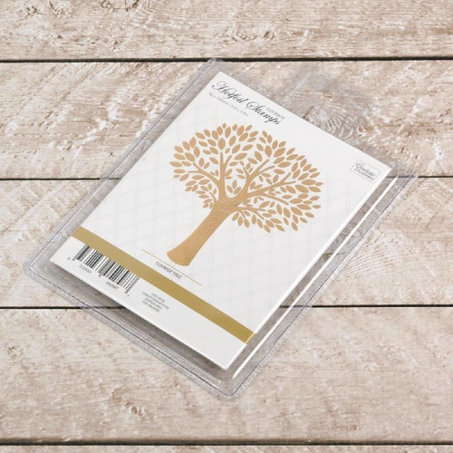 Couture Creations Hotfoil Stamp Summer Tree