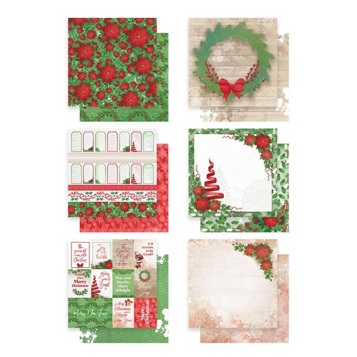 12x12 Couture Creations Merry Little Christmas Papers