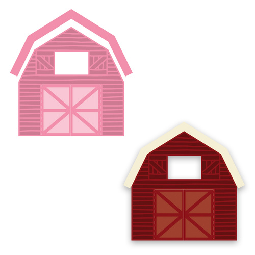 Marianne Design Collectables Barn Dies COL1406