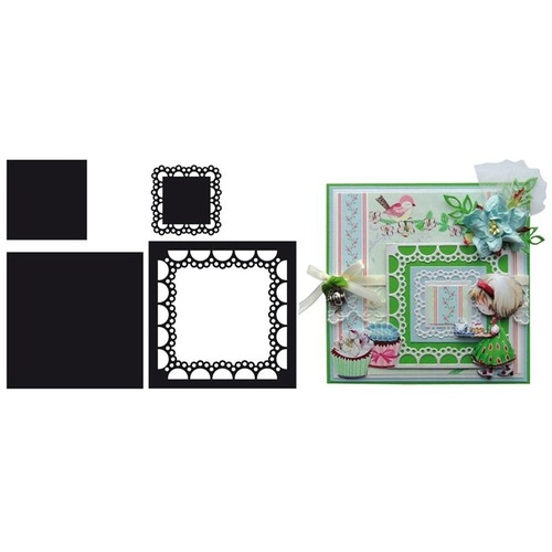 Marianne Design Craftables Dies Passepartout Square CR1240