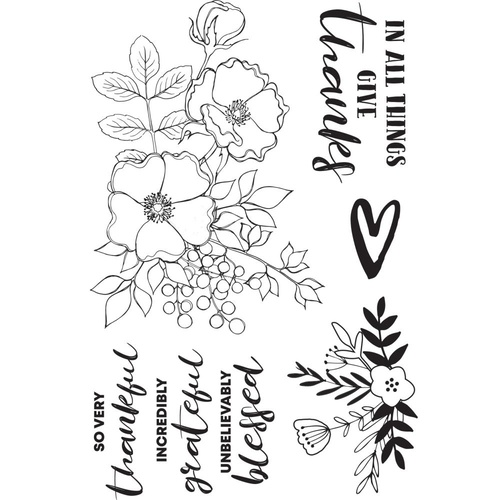 KaiserCraft Clear Stamps Blessed CS344